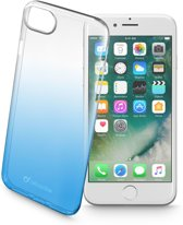 Cellularline Shadow mobiele telefoon behuizingen 11,9 cm (4.7'') Hoes Blauw, Transparant