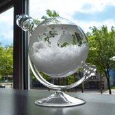 MikaMax Storm Globe Barometer - Uniek design - Gla