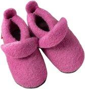 Pololo babyslofjes wol pink