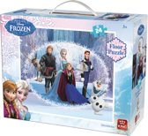 Disney Frozen Vloerpuzzel (60 x 50 cm) - 24 Stukjes
