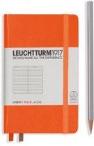 Leuchtturm1917 Notitieboek - Pocket - Gelinieerd - Oranje