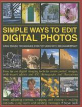 Simple Ways to Edit Your Digital Photos