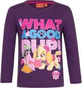 Paw Patrol shirt paars voor meisjes 98