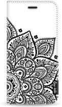 Casetastic Wallet Case White Samsung Galaxy A8 (2018) - Floral Mandala