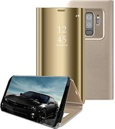 Clear View Stand Cover voor de Samsung Galaxy S9 – Goud