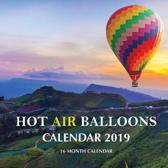 Hot Air Balloons Calendar 2019