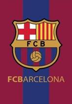 FC Barcelona Fleece Plaid Logo 140x200cm