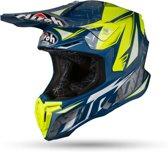 Airoh Crosshelm Twist Iron Blue Gloss-XL