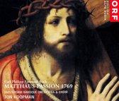 C.P.E. Bach: Matthaus-Passion 1769
