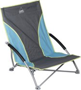Camp-gear Beach Chair - Compact - Blauw/grijs