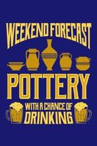 Weekend Forecast Pottery with a Chance of Drinking