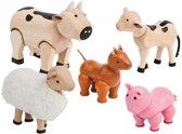 Plan Toys Boerderij dieren set
