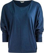 """Yoga-Long-Shirt """"Batwing"""" - navy M Loungewear shirt YOGISTAR"""