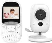 VB602 Babyfoon met Camera | 2 Inch Video Babyphone | Baby Monitor met Kleurenmonitor | Grijs/Wit