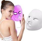 LED Gezichtsmasker - Gezichtsbehandeling - Gezichtsmasker - Huidverzorging - 7 Soorten Behandelingen - Anti Aging - Anti Acne - Litteken Verwijderaar - Lichttherapie