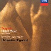 Pergolesi: Stabat Mater, Salve Regina / Hogwood
