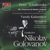 "Tchaikovsky: The ""Francesca da Rimini"" Fantasia; Kalinnikov: First Symphony"