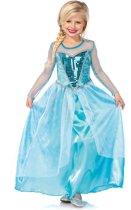 Ijsprinses kostuum voor meisjes  - Verkleedkleding - 134/146