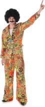 """""""Peace and love hippie kostuum voor mannen - Verkleedkleding - Medium"""""""