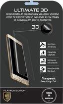 [Buzz4You] Samsung Galaxy S8 - Gehard glas screenprotector ULTIMATE 3D Platinum Edition | 0,33 mm - TRANSPARANT - 3D randen in gebogen reliëf - totaal dekking | [** Levertijd 24 - 48 H ** ]