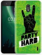 Nokia 2 Hoesje Party Hard 3.0