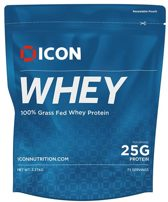 Icon Nutrition Whey 100% gras fed Isolated Protein 2,27 KG - Cinnamon Vanilla Swirl