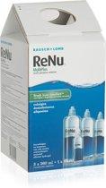 ReNu MultiPlus Fresh Lens Comfort Solution [3x 360ml + 1x 60ml]