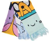 Adventure Time knitted scarf