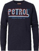 Petrol Industries Jongens Longsleeve - Donker Blauw - Maat 140