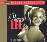 A Proper Introduction to Peggy Lee: I Get Ideas
