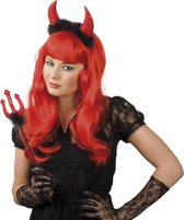 Set Duivelshoorntjes & duivelsvork (38 cm)