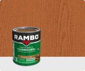 Rambo Pantserbeits Tuinmeubel Zijdemat Transparant Teakhout 1204 750 cc