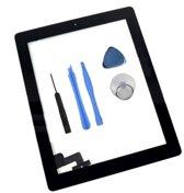 iPad 2 scherm digitizer touchscreen Zwart voor reparatie