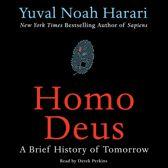 Boekomslag van 'Homo Deus'