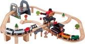 Hape Lift & Load Mining -  Houten Treinset