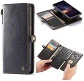 CASEME Samsung Galaxy Note 9 Luxury Wallet Hoesje  - Zwart