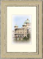 Fotolijst - Henzo – Capital Bern - Fotomaat 10x15 - Champagne