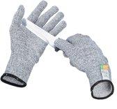 relaxdays anti-snijhandschoenen van nylon - Klasse 5 - EN 388 - snijvaste werkhandschoenen L