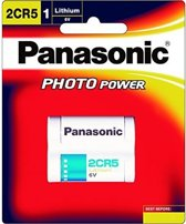 Panasonic Photo Lithium Battery 2CR5