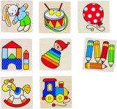 Goki Houten Geheugenspel: Speelgoed 16-delig