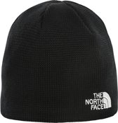 The North Face Y Bones Recyc Beanie Kinderen Muts - Tnf Black/Tnf White - One size