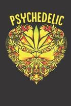 Psychedelic Mandala Abstract Notebook