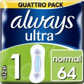 Always - Pads Ultra Normal - Quatro Pack