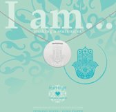 Heart to Get - Hamsa Symbol Coin 26 mm Ketting IAM413N-HAMSA-S