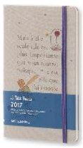 Moleskine Agenda 2017 12 Months Limited Edition Planner Petit Prince Weekly Notebook Large Light Grey