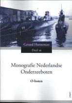 Monografie Nederlandse onderzeeboten - O-boten Deel 1B