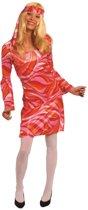 Hippie jurk jaren 70 voor vrouwen - Verkleedkleding