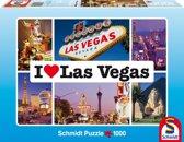 Schmidt puzzel I love Las Vegas 1000 stukjes