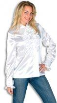 Rouches blouse wit dames 38 (m)