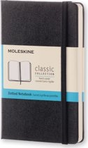 Moleskine Classic Notebook - Pocket - Dotted - Hard Cover - Black